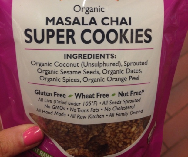 "Can a cookie really be ""super"" in the health sense? I'm not sure, so I'll just assume they mean super-delicious!"